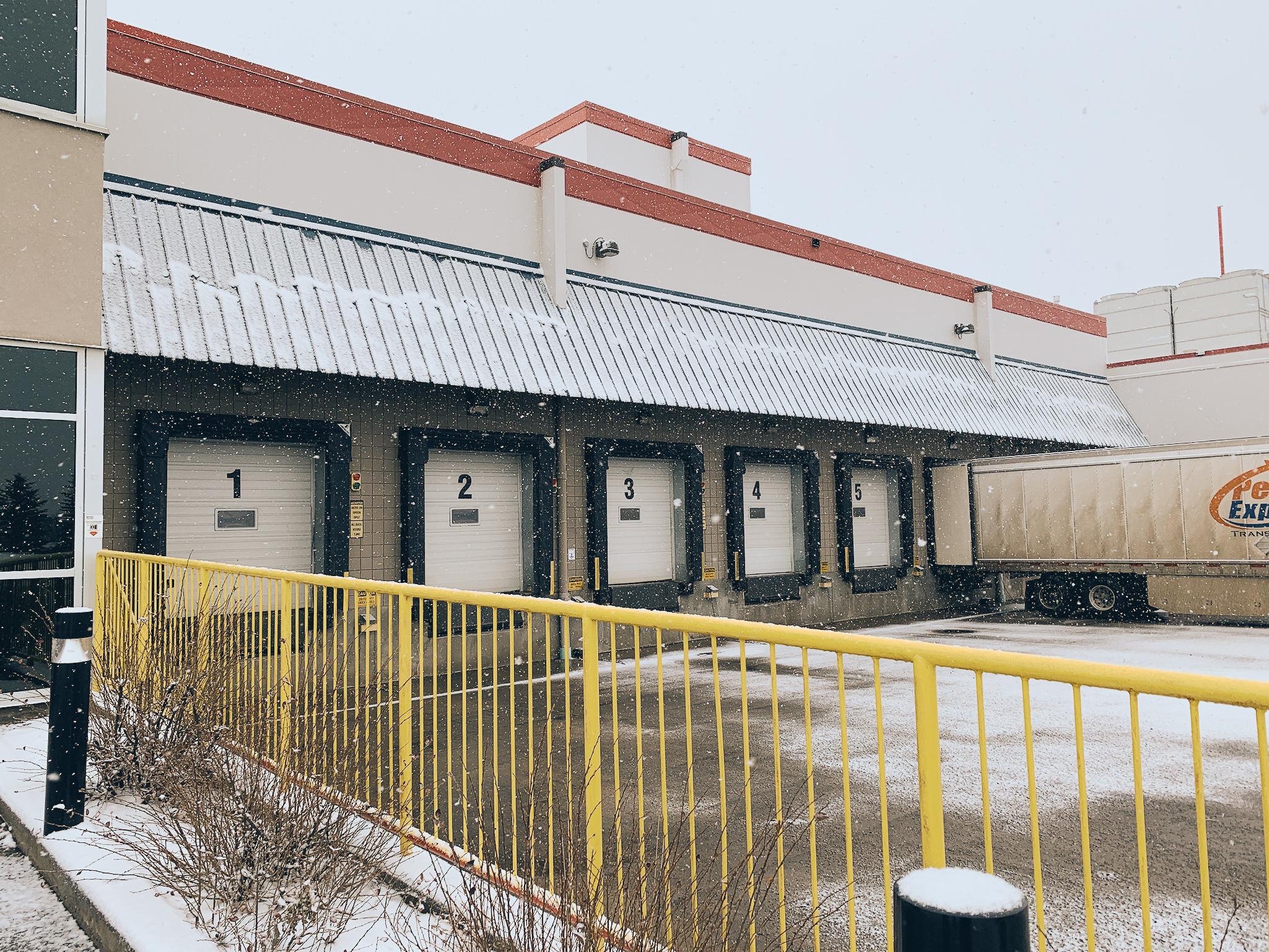 VersaCold Building bay doors